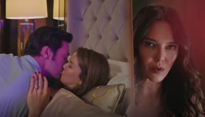 Camdaki Kız 13. bölümde romantik geceye Cana baskını! Nalan ve Sedat'ı yatakta yakaladı!