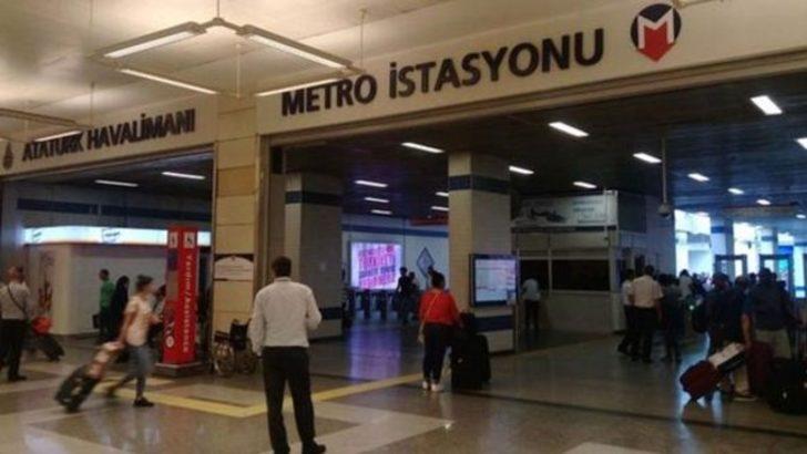Atatürk Havalimanı'ndaki metro vagonunda dehşet!