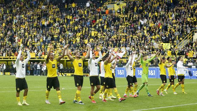Haaland'sız Dortmund, araya mutlu gitti!
