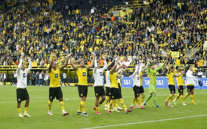 MAÇ SONUCU   Borussia Dortmund  2-1 Augsburg