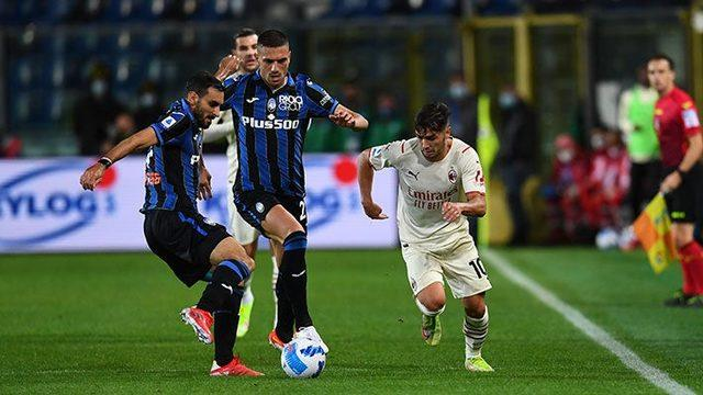 Milan, Atalanta'yı deplasmanda 3-2 yendi