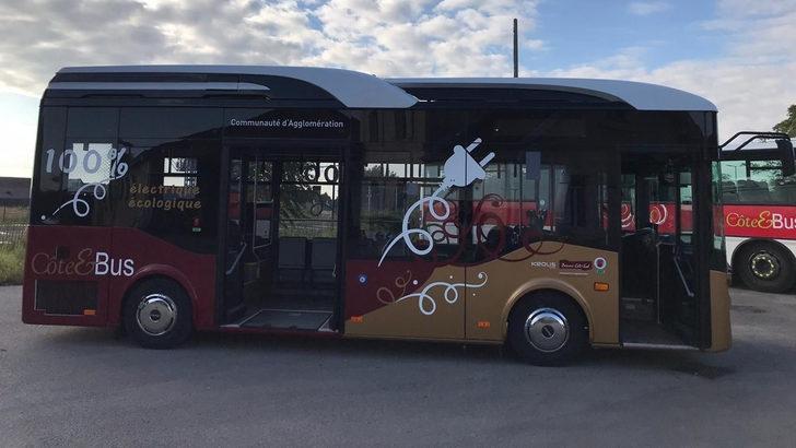Anadolu Isuzu, elektrikli aracı NovoCITI VOLT'un ilk teslimatını Fransa'ya gerçekleştirdi