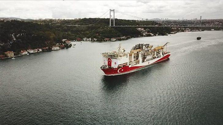 Bakan Dönmez duyurdu: Yavuz sondaj gemisi Karadeniz'e açıldı