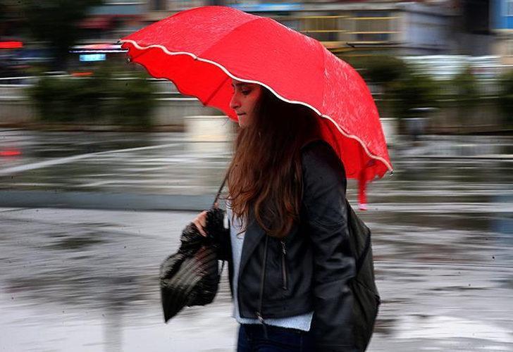 Meteorolojiden çok sayıda il için yağış uyarısı (8 Ekim hava durumu)