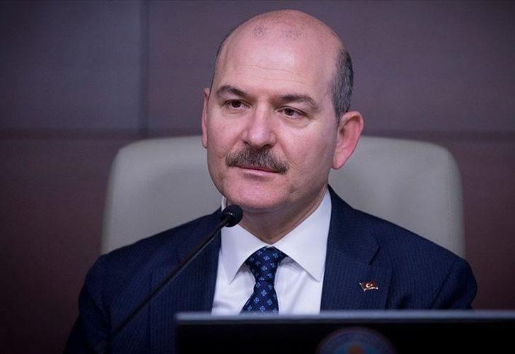 """Bakan Soylu """"Türk polisi yakalar"""" diyerek duyurdu"""