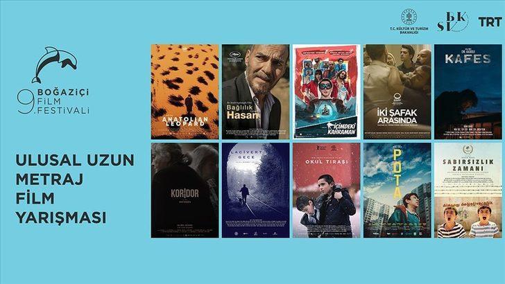 9.Boğaziçi Film Festivali'nin Uluslararası Uzun Metraj Film Yarışması'na seçilen filmler açıklandı
