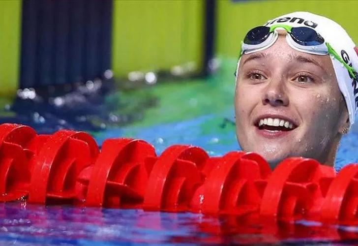 Milli yüzücümüz Viktoria Zeynep Güneş'ten bronz madalya