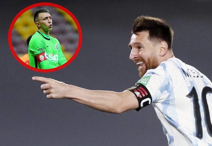 Yok artık Messi! Muslera'ya şut çekmeden gol attı