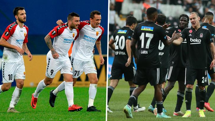 Beşiktaş, Vardar ile işbirliği anlaşması imzaladı