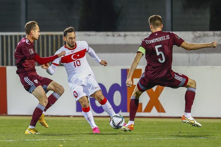 ÖZET | Letonya 1-2 Türkiye