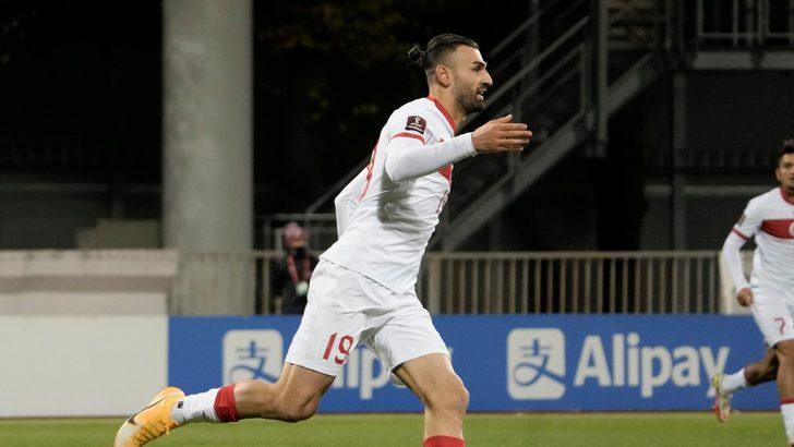 Serdar Dursun ilk maçında golünü attı