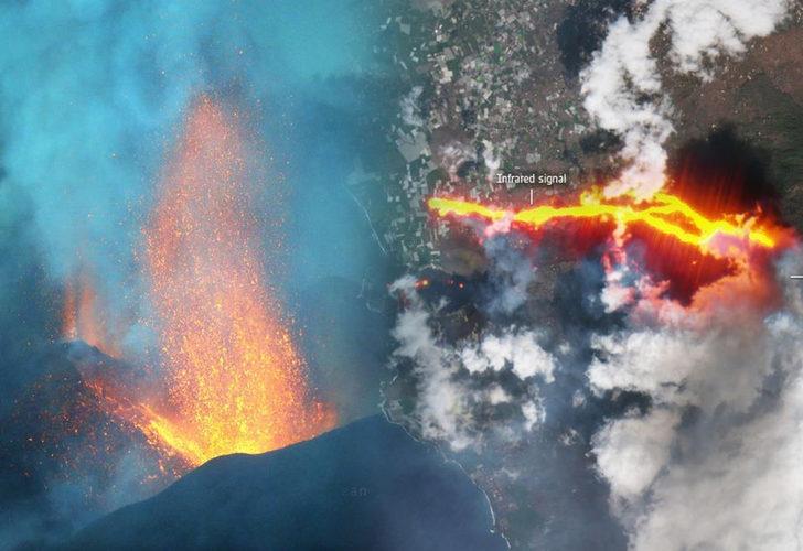 La Palma Adası'nda yanardağ felaketi! Yüzlerce kişi için tahliye kararı
