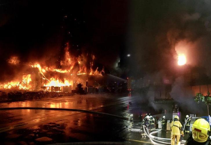 Tayvan'da 13 katlı binada yangın faciası! Onlarca ölü ve yaralı var
