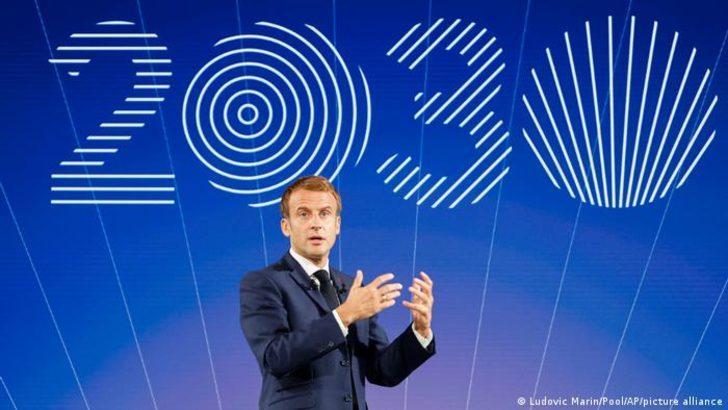 Macron'dan 30 milyar euroluk yatırım planı