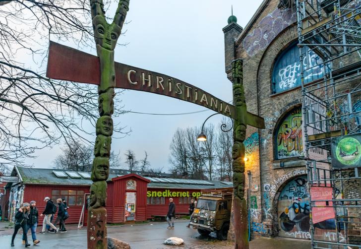 Kopenhag'ın ortasında özgürlükler kasabası! Sadece iki şey yasak: Koşmak ve fotoğraf çekmek