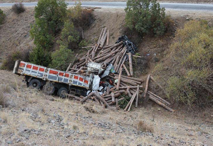 Korkunç kaza! 30 metreden uçtu, ezilerek öldü