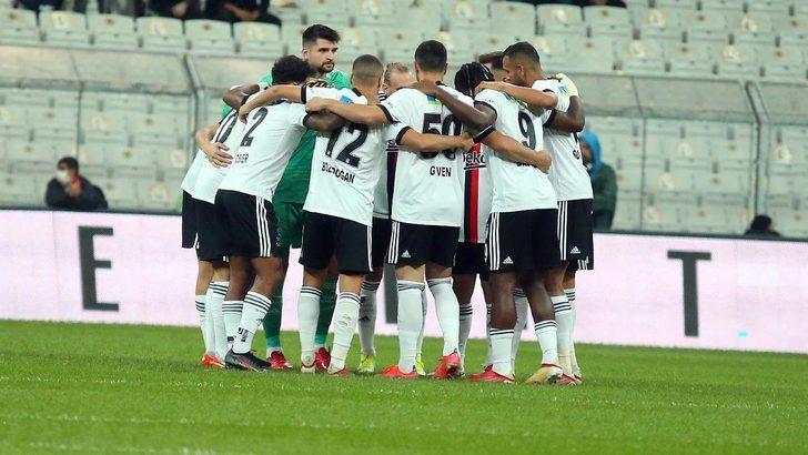 Beşiktaş'ta Başakşehir maçında 5 eksik