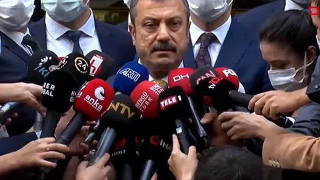 Merkez Bankası Başkanı Kavcıoğlu'ndan dolar açıklaması