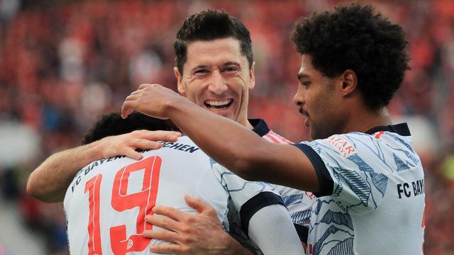 Bayern Münih 7 dakikada fişi çekti: 5-1!
