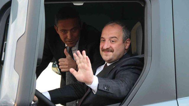 Türkiye'de ilk ve tek! Bakan Varank test etti
