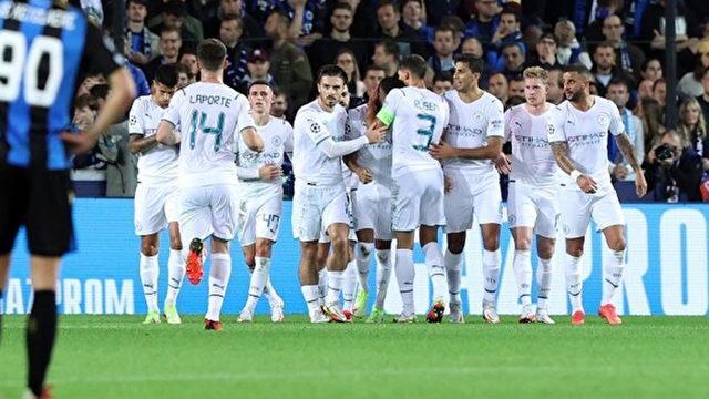 """Manchester City, Belçika'da vitesi """"5""""e taktı!"""