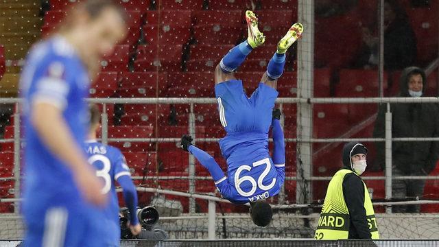 Leicester'da bir makine! Spartak'ı 4 golle yıktı...