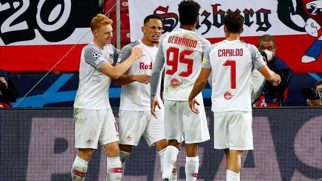 Salzburg, Wolfsburg'a şans tanımadı!