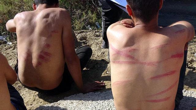 Rezalet! Yunanistan, göçmenleri dövüp Türkiye'ye gönderdi