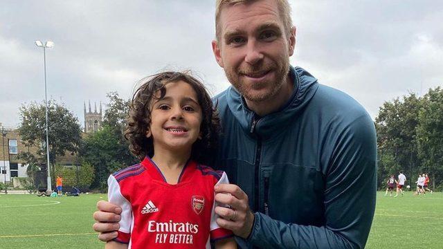 Arsenal 4 yaşındaki futbolcuyu transfer etti