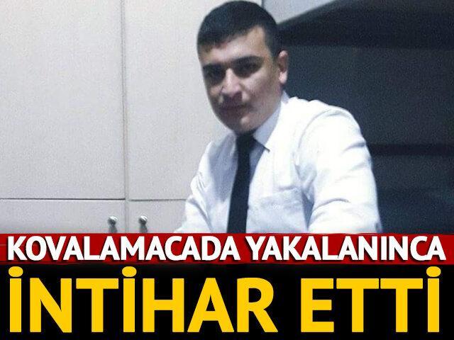 Polise yakalandı, intihar etti