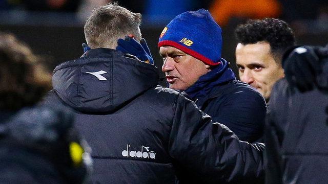Jose Mourinho'dan tarihi yenilgi sonrası açıklama!