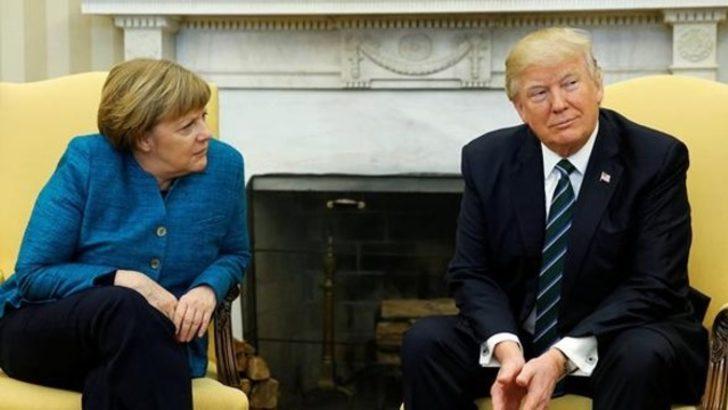 Trump-Merkel gerilimi: İşte tek cümlelik açıklama