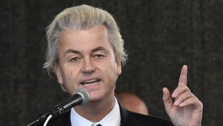 Wilders'ten Türkiye-Hollanda krizi yorumu: Bu sadece başlangıç