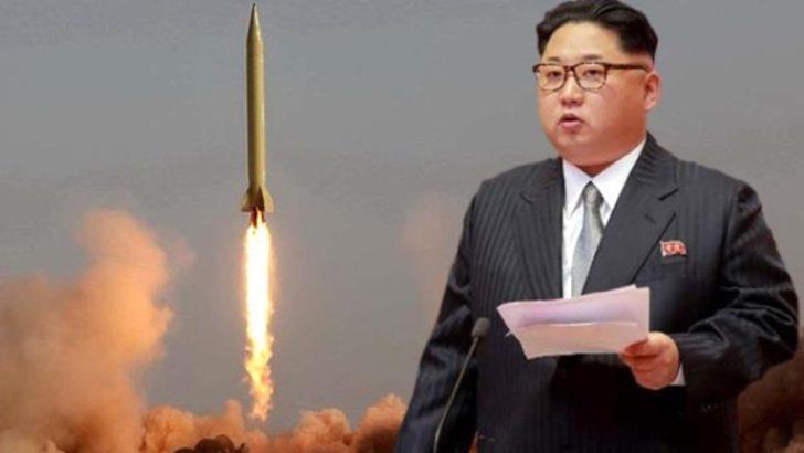Son dakika: Kuzey Kore tanımlanamayan bir cisim fırlattı