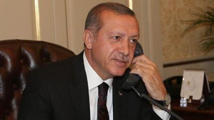 Erdoğan'dan Ruhani'ye tebrik