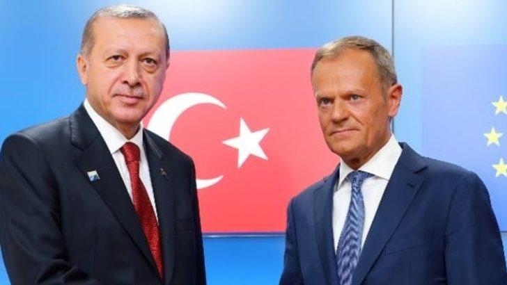 Erdoğan AB liderleriyle, terörle mücadeleyi görüştü