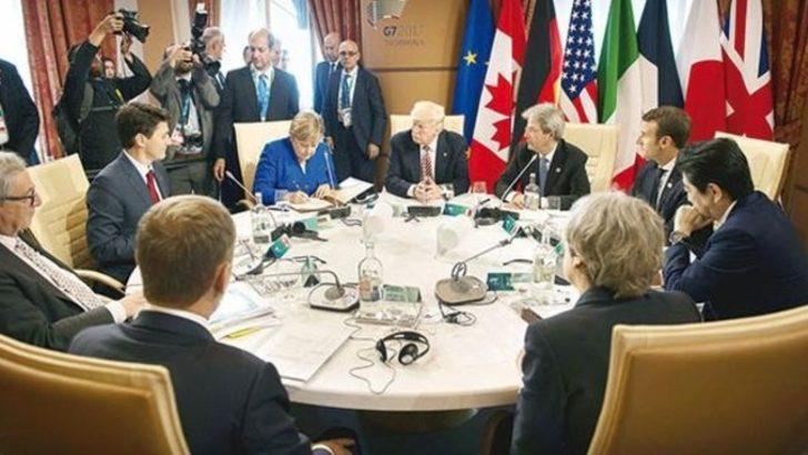 G-7 zirvesinden ortak bildiri: Terörle mücadele artacak