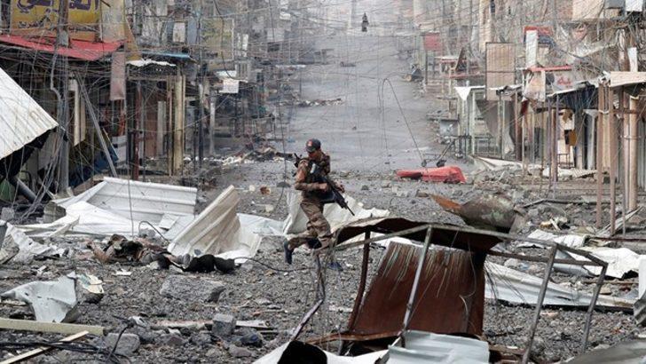Musul'da 43 sivil yanlışlıkla öldürüldü