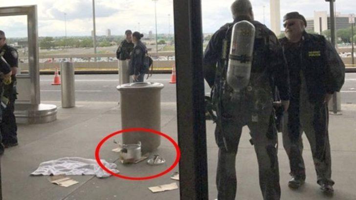 Havalimanı düdüklü tencere yüzünden boşaltıldı