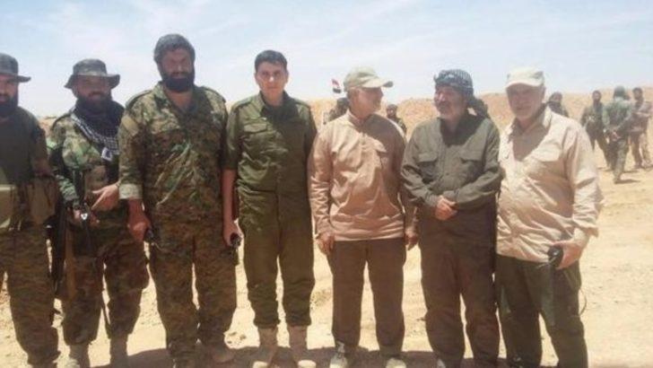 İranlı sır komutan Kasım Süleymani sınırda Haşdi Şabi'yle görüntülendi!
