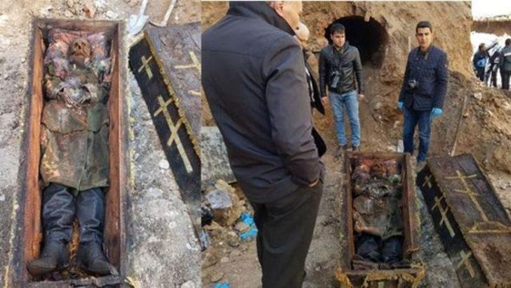 Ardahan'da bulunan Rus generalin tabutu mühürlendi, koruma altına alındı