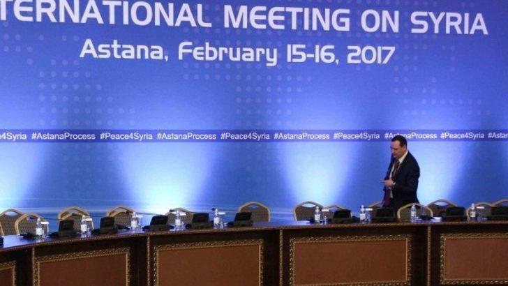 Astana görüşmeleri başladı: Muhalifler katılmadı