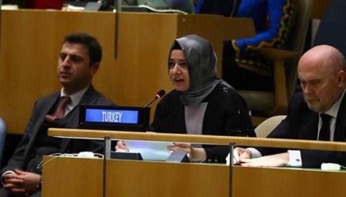 Bakan Kaya BM'de Hollanda'yı şikayet etti