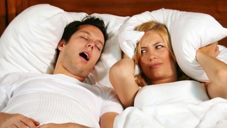 Uykuda nefes kesilmesi (uyku apnesi) ve uyku bozuklukları