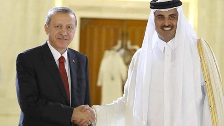Katar Emiri Al Thani Cumhurbaşkanı Erdoğan'a Twitter'dan teşekkür etti