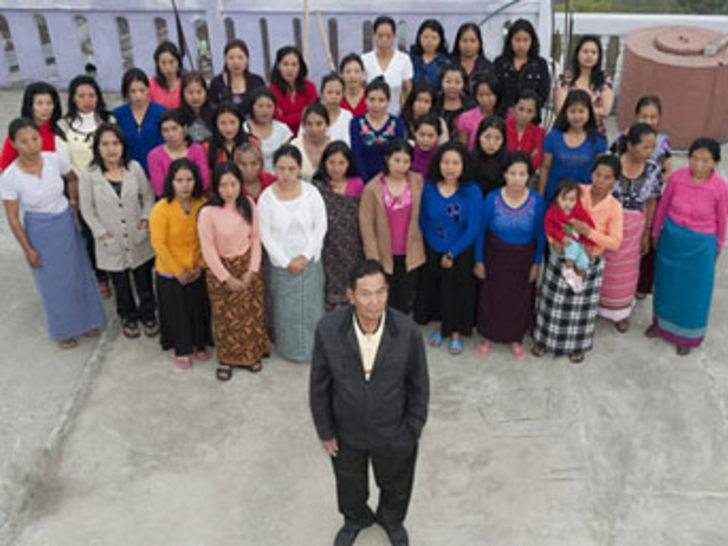 Tam 39 karısı, 94 çocuğu var