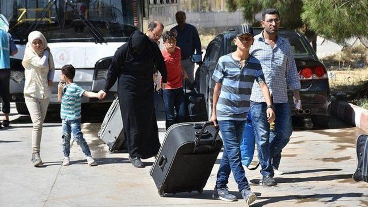 Suriyeliler akın akın geri dönüyor