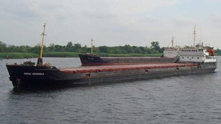 Karadeniz'de Türk gemisi battı
