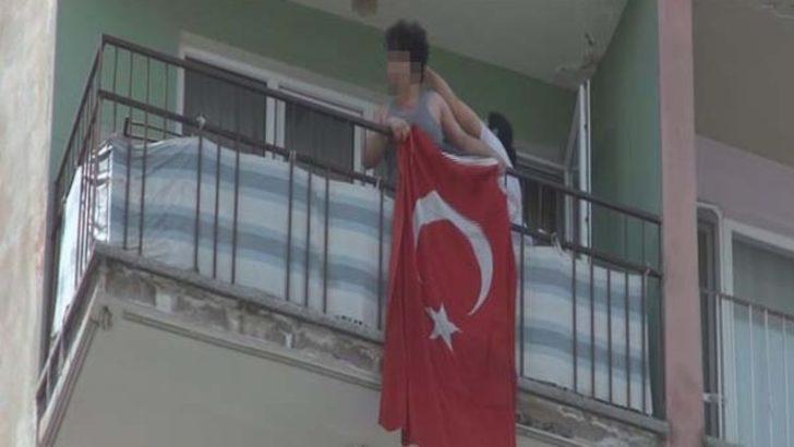 HDP'lileri tepki göstermek istedi, yakını saçından sürükledi
