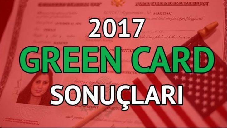 Green Card başvuru sonuçları ne zaman açıklanıyor? Green Card çekiliş sonuçlarını öğren...